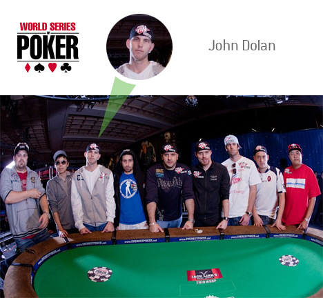 John Dolan as part of November 9 at the 2010 World Series of Poker