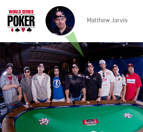 Matthew Jarvis of November 9 - WSOP 2010