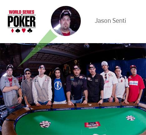 WSOP 2010 - November 9 - Jason Senti
