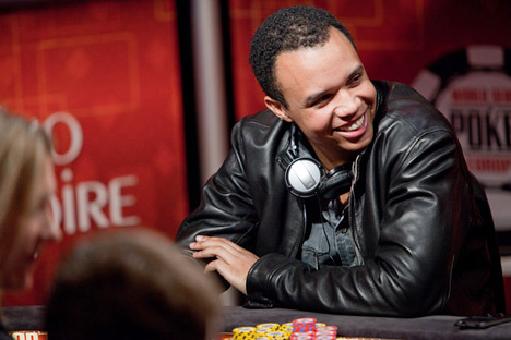 Phil Ivey at the WSOPE 2010