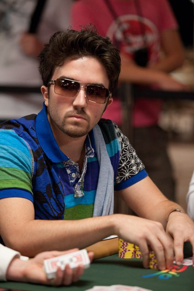 Ryan D Angelo at the 2010 WSOP - With Sunglasses