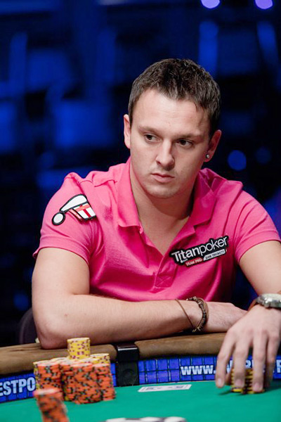 Sam Trickett at the WSOP 2010