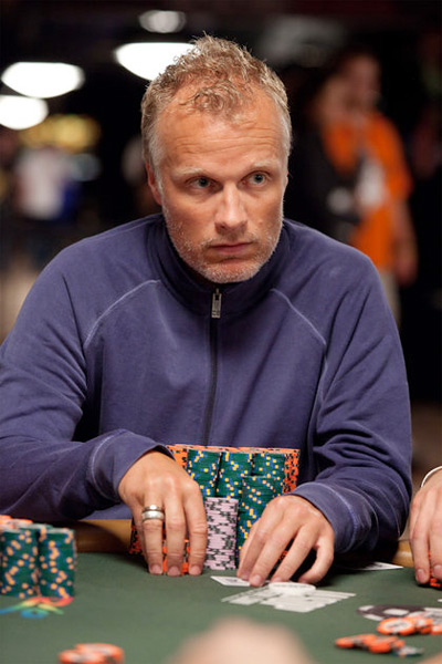 Theo Jorgensen at the WSOP (World Series of Poker) 2010 - Las Vegas