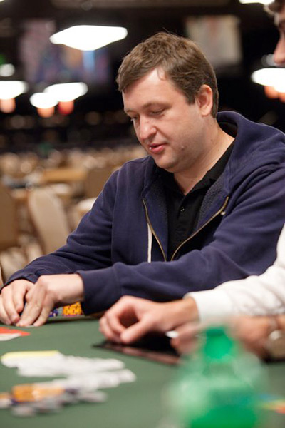 Photo of Antanas Guoga also known as Tony G at the World Series of Poker 2010