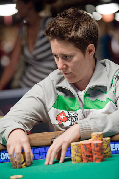 Vanessa Selbst in the game - World Series of Poker 2010 - Rio