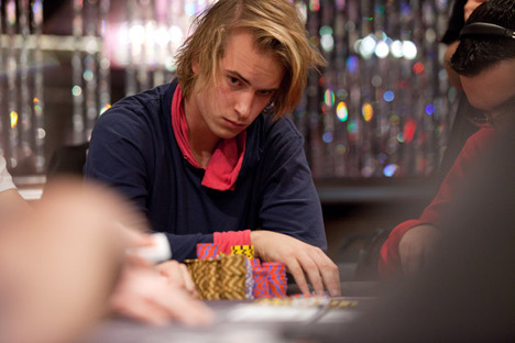 Viktor Blom at the table - Rare Photo