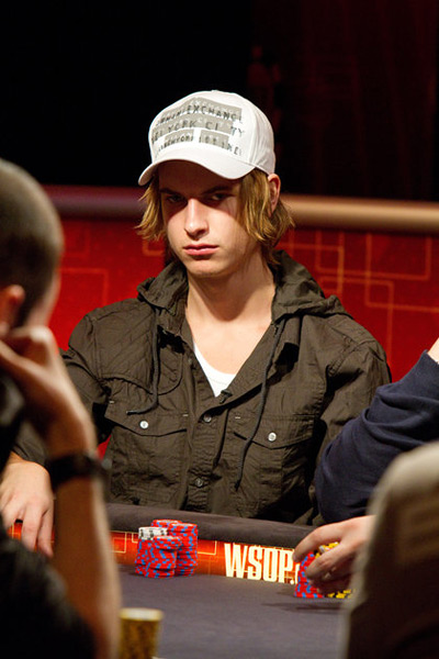 Viktor Blom at the WSOPE 2010