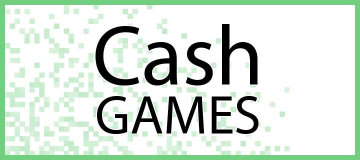 K dispozici je několik typů pokerových cash games.