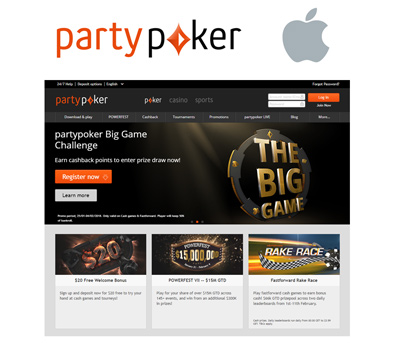 PartyPoker for Apple Mac
