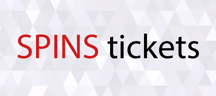 SPINS tickets is one of the current promotion offers at party.